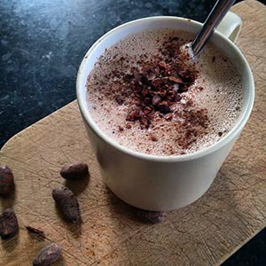 Vegan Maca Hot Chocolate
